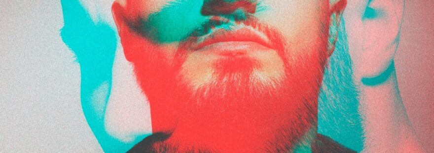 man s face portrait